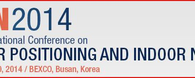i-Locate presentato all'apertura di IPIN 2014 in Corea del Sud
