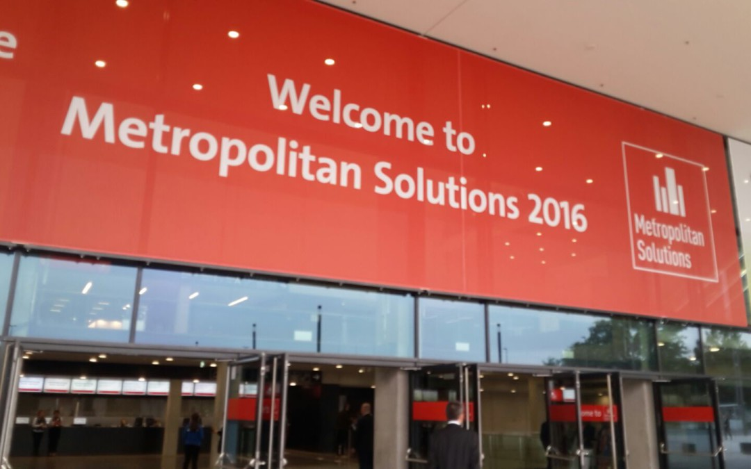 Metropolitan Solutions conference in Berlino: Trilogis presents geospatial technologies for innovation in urban and regional planning.