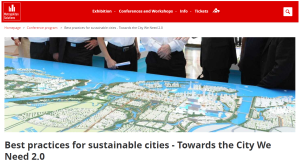 Best practices for sustainable cities - Towards the City We Need 2.0