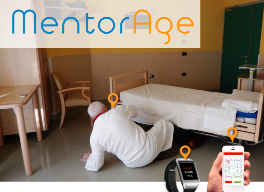 Italian national launch of MentorAge, the continuous, intelligent, and non-invasive monitoring system to ensure the safety of elderly people in health facilities.