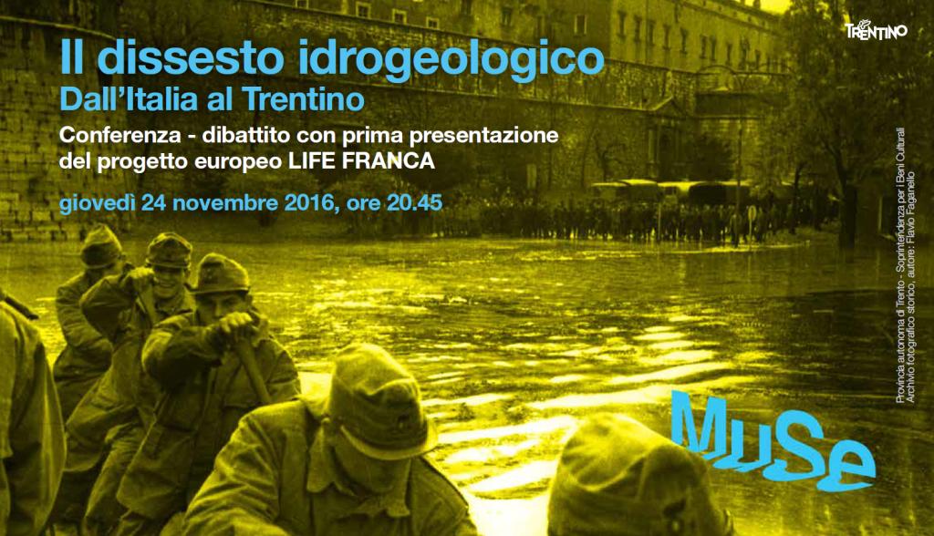 LIFE FRANCA - dissesto idrogeologico