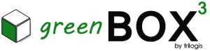 logo BOX3 GREEN