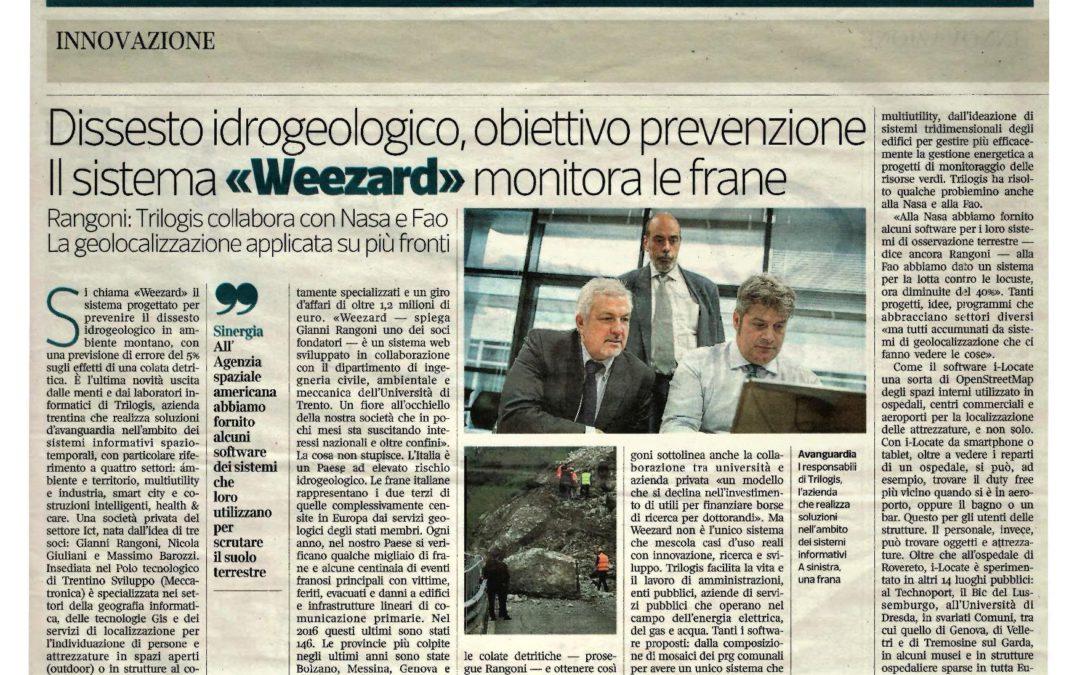 Trilogis sul Corriere della Sera (Corriere Imprese)