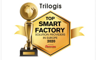 "Trilogis is ranked in the ""Top 10 Smart Factory solution providers in Europe 2020"" according to the magazine ""MANUFACTORING TECHNOLOGY INSIGHTS"""