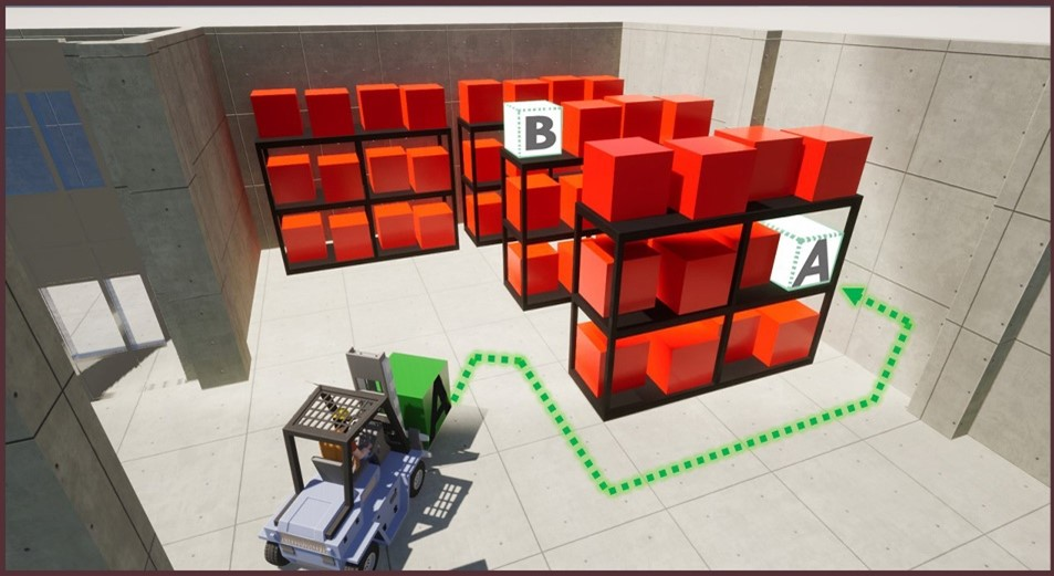 TRACCIA 5.0: Trilogis mette in ordine il magazzino coi sensori e le mappe intelligenti.
